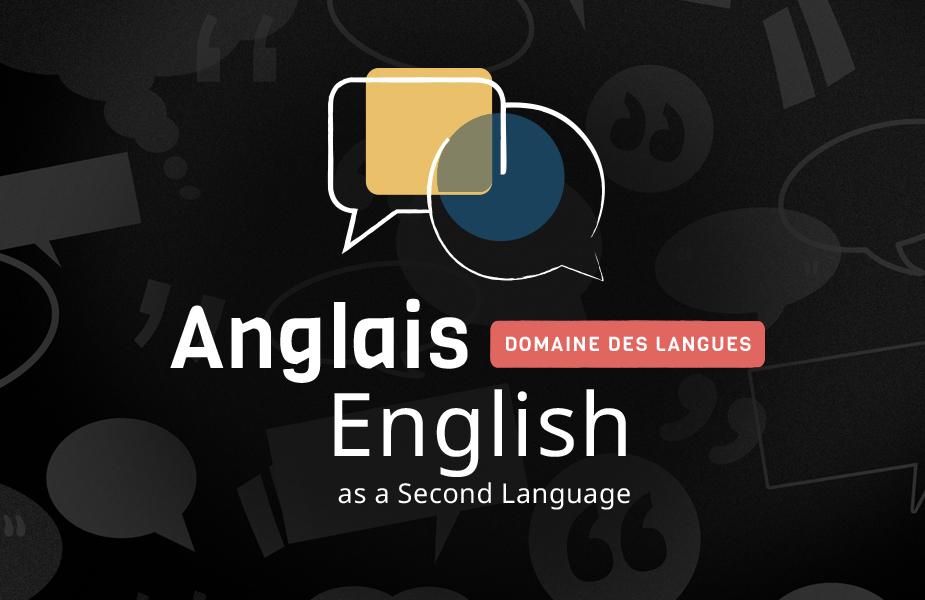 English as a Second Language • 5e secondaire